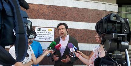 """Robisco exige a Page """"que se lleve a su casa los residuos nucleares de Trillo y Zorita, por paralizar el ATC de Cuenca"""""""