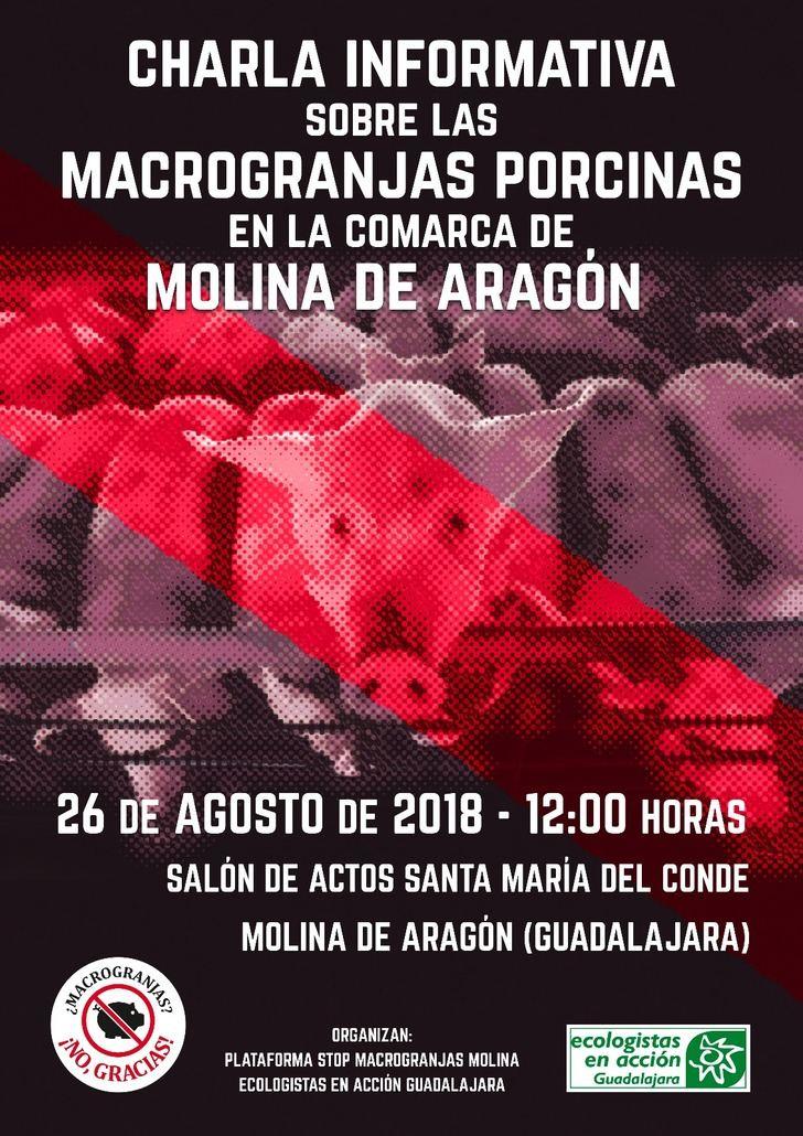 Ecologistas en Acción considera insuficiente ampliar a 2.000 metros la distnacia del núcleo urbano para la instalación de macrogranjas de cerdos
