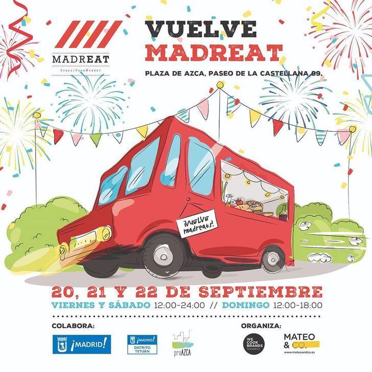 El mayor mercado de comida callejera de Europa regresa a Madrid