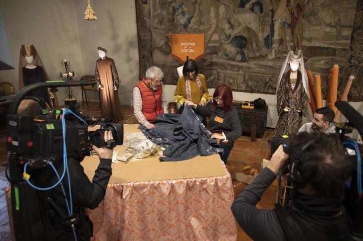 'Maestros de la costura' llegó a su máxima audiencia de la temporada en Sigüenza