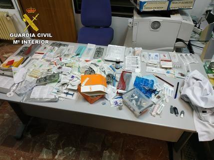La Guardia Civil de Ciudad Real detiene a una persona que había robado un maletín de un facultativo médico