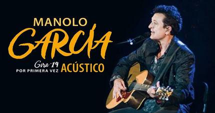 Manolo García actuará en Guadalajara el 24 de mayo y anuncia 5 conciertos en el Palacio de Congresos de Madrid entre el 21 y el 30 de noviembre