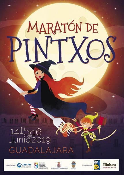 Maratón de pinchos en los bares de Guadalajara capital del 14 al 16 de junio