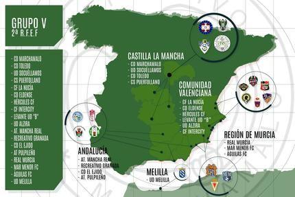 El CD Marchamalo jugará en el grupo V de la Segunda RFEF