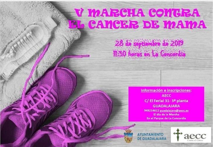 Abierta la inscripción para participar en la Marcha Contra el Cáncer de Guadalajara