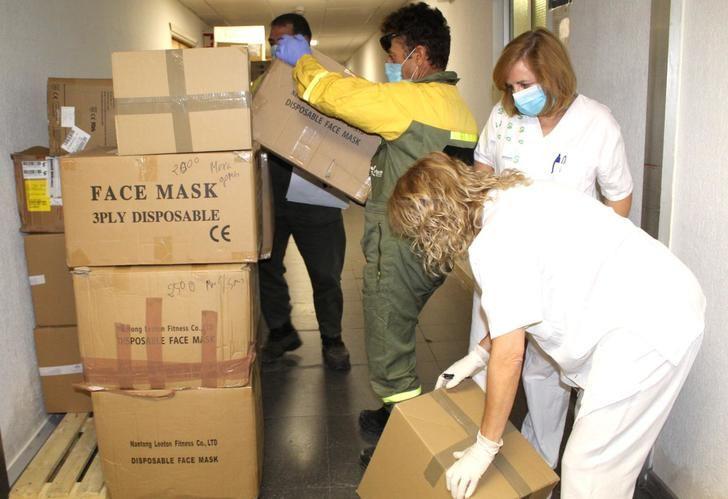 El Hospital de Guadalajara recibe de la Junta 1.000 test rápidos para detección del coronavirus