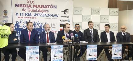 La XIX Media Maratón de Guadalajara reunirá a más de 1.000 corredores
