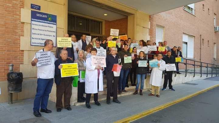 Los médicos de Atención Primaria vuleven a echarse a la calle contra la gestión sanitaria de Page