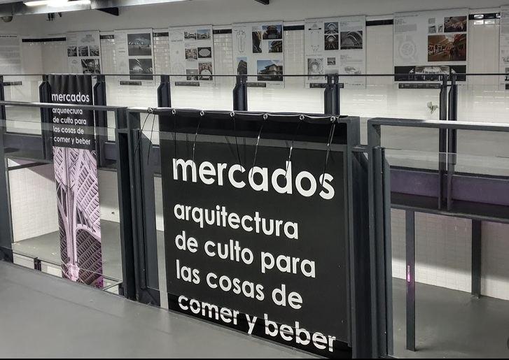 Ciclo de Conferencias en Guadalajara : 'Mercados, arquitectura de culto para las cosas de comer y beber'