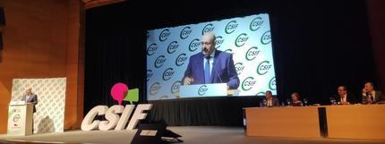 Miguel Borra, reelegido presidente de CSIF para los próximos cuatro años