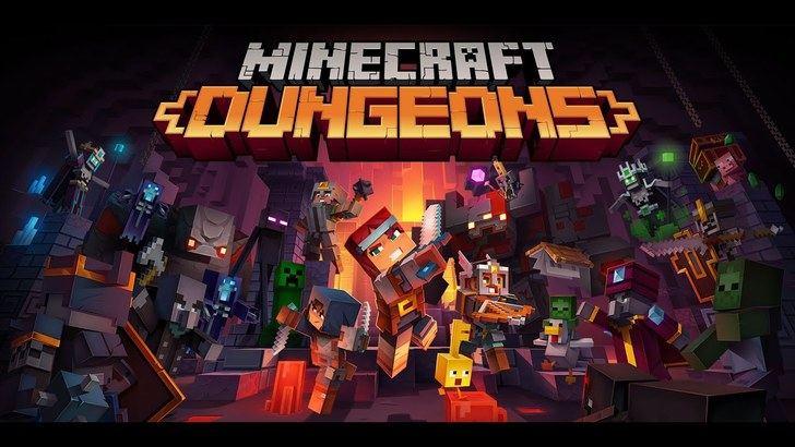 Ya está disponible 'Minecraft Dungeons'
