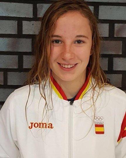 La alcarreña Miriam Martínez bate cuatro récords de España en la Copa de Europa