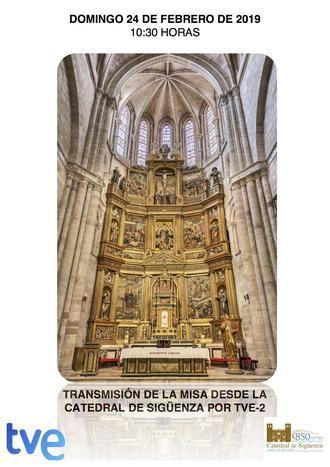 """Este domingo por la mañana, La 2 retransmite la misa de """"El Día del Señor"""" desde la catedral de Sigüenza"""