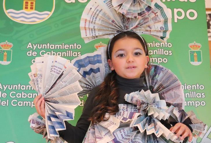 El disfraz «Muñeca de Papel» y la «Sardina de Fiesta» ganan los concursos del Carnaval 2021 de Cabanillas