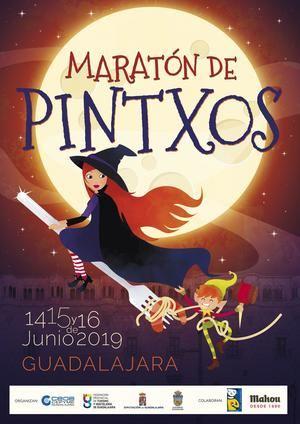 Del 14 al 16 de junio, Maratón de Pinchos por las calles de Guadalajara