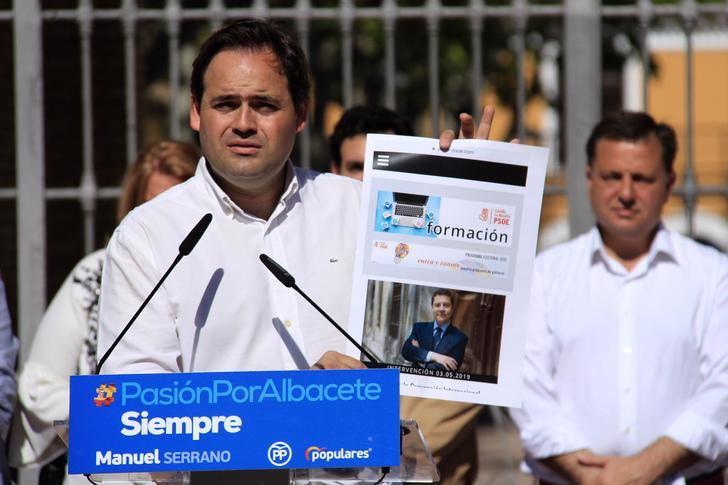 """Núñez: """"Page se presenta a las elecciones autonómicas con el mismo programa que en 2015 porque no ha cumplido ni una sola de sus promesas"""""""
