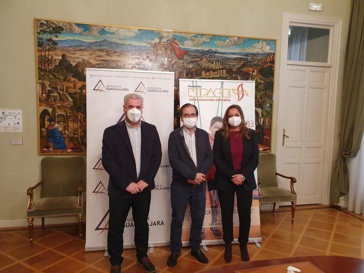 La Diputación de Guadalajara paga el 80% de la inversión de NIPACE en un nuevo equipo de neurorrehabilitación intensiva para niños