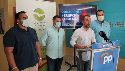 NNGG España iniciará una campaña solidaria para ayudar los vecinos afectados por la erupción volcánica de La Palma