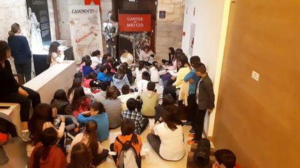 """Más de 130 escolares han participado en las tres primeras jornadas de las """"Noches Mágicas"""" del castillo de Torija"""