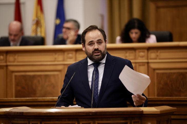 Núñez pide a Page la convocatoria inmediata del Debate sobre el Estado de la Región para analizar la situación de Castilla-La Mancha