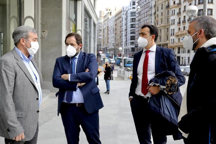 Núñez se interesa por la situación de los trabajadores de la planta Siemens-Gamesa de Cuenca y consigue que sus reivindicaciones sean escuchadas por el GPP en el Congreso