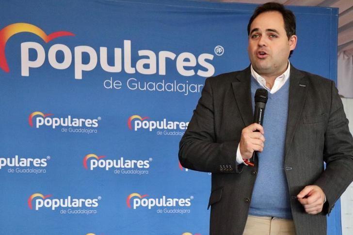 Paco Nuñez insta en Guadalajara al socialista Page a acudir a un notario y firmar que los diputados nacionales de PP y PSOE no apoyen un gobierno que dependa de los independentistas