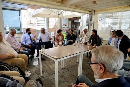 Paco Núñez mantiene un encuentro con el Grupo Municipal Popular de La Roda
