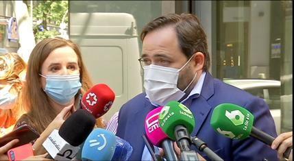 Paco Nuñez lamenta que Page haya faltado al respeto a los maestros, a las personas mayores, a los médicos e incluso a los fallecidos por la pandemia