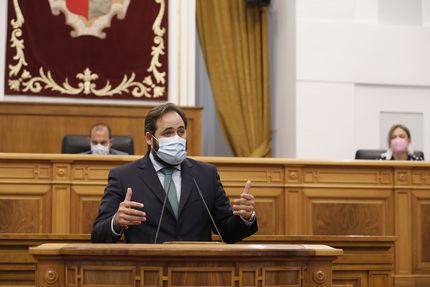 """Paco Núñez propone a Page un nuevo Estatuto """"al servicio de la gente y no de los políticos"""""""