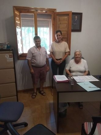 """Olga Villanueva: """"Ciudadanos trabajará para el acondicionamiento del camino rural asfaltado que une las localidades de San Andrés del Congosto y Membrillera"""""""