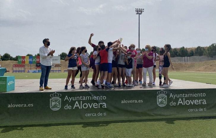 Alovera celebra sus primeras olimpiadas entre sus centros educativos organizadas por el Ayuntamiento