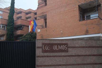 Empleados y residentes de Los Olmos, expectantes y orgullosos de encarnar el inicio de la vacunación en España