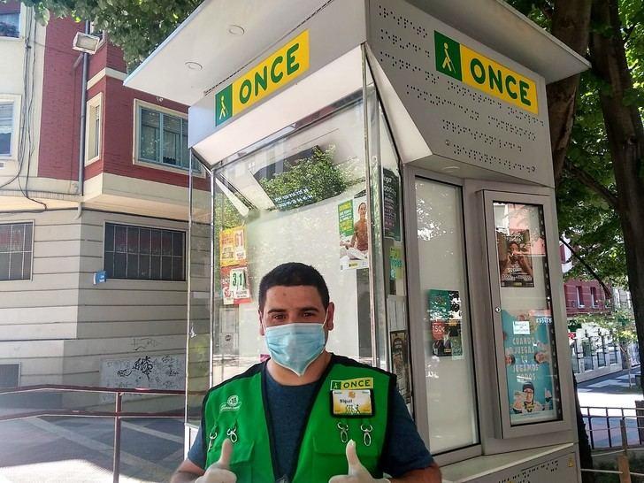 38 vendedoras y vendedores de la ONCE en Guadalajara vuelven a llevar la ilusión a las calles