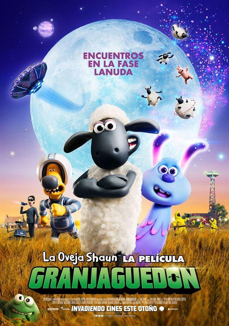 La oveja Shaun. La película: Granjaguedon