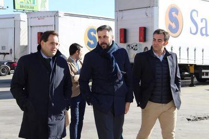 Paco Núñez se compromete en Cabanillas a bajar impuestos y desarrollar polígonos industriales para el desarrollo y el empleo de la región