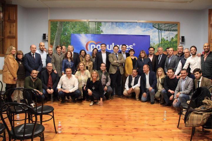 El PP a por todas : Paco Núñez presenta a Jaime Celada como candidato a la alcaldía de Cabanillas del Campo