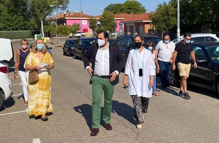 Paco Nuñez anuncia en El Casar que el PP-CLM presentará en los próximos días la Ley que combatirá la Ocupación Ilegal de viviendas