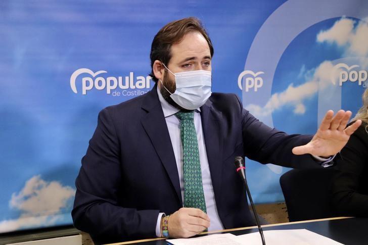 Paco Núñez reta a Page a que los parlamentarios de PP y PSOE firmen un documento conjunto contra los indultos a los independentistas catalanes