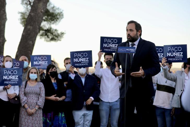 Paco Nuñez presennta su candidatura a la reelección como presidente del Partido Popular de Castilla-La Mancha
