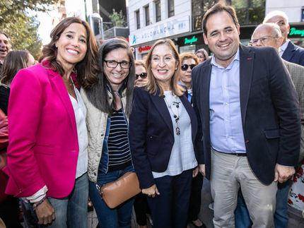 Ana Pastor y Paco Núñez subrayan el compromiso del PP con el mundo de la discapacidad