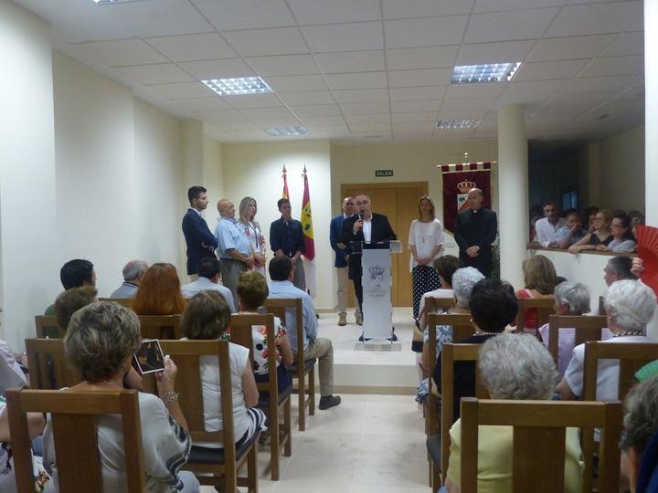 Más de 200 personas asisten a la inauguración del Palacio de Goyeneche en Illana