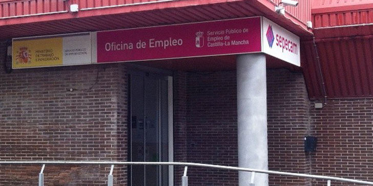 Sube el paro con fuerza en Guadalajara, Castilla La Mancha y España,