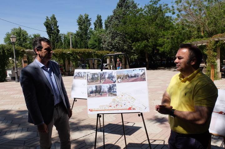 El ayuntamiento de Guadalajara invertirá mas de un millón de euros en mejorar el parque de San Roque