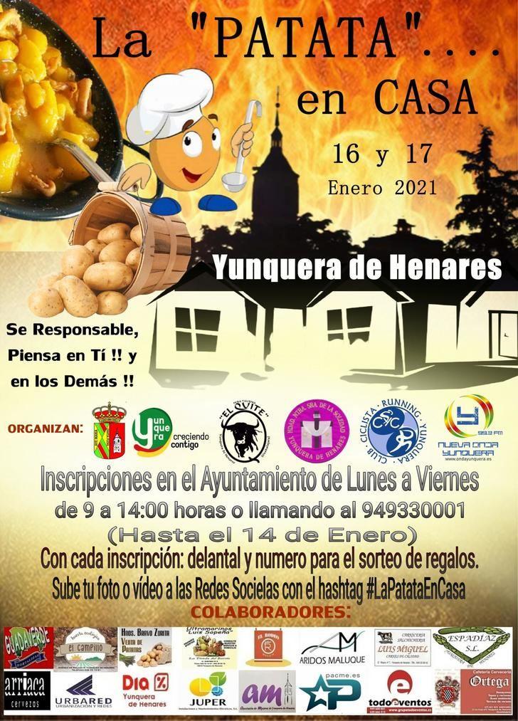 Yunquera celebrará la tradicional fiesta de la patata de manera no presencial debido al protocolo sanitario marcado por la Covid.
