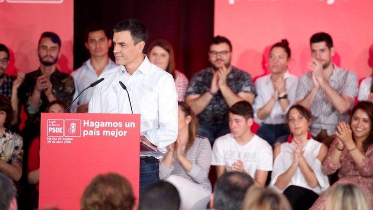 Pedro Sánchez (PSOE) traiciona a Castilla La Mancha : ahora muestra su 'compromiso' por mantener el trasvase Tajo-Segura