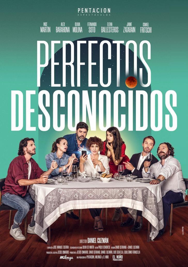 Este sábado, Perfectos desconocidos en el TABV de Guadalajara