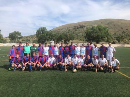 El CD Sigüenza celebró el vigésimo aniversario de su primer ascenso a tercera división