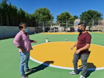 Pozo de Guadalajara estrena pistas deportivas este fin de semana