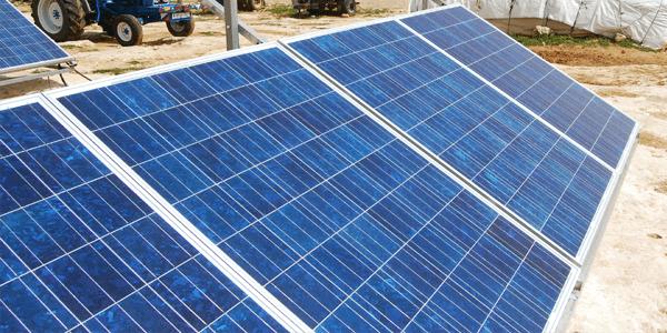 """""""Avalancha"""" de placas solares en el campo de Castilla La Mancha"""