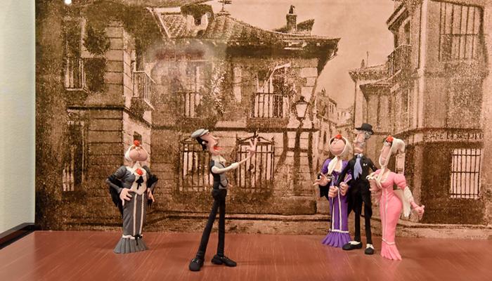 Una exposición de plastilina muestra la historia de la música a través de 20 escenas en el Centro San José de la Diputación de Guadalajara